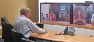 Korea team Video Conferencing